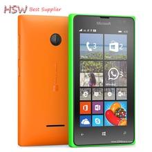 """100% Оригинал Microsoft Lumia 435 Dual-core 8 ГБ ROM 1 ГБ ОПЕРАТИВНОЙ ПАМЯТИ мобильный телефон 4.0 """"480×800 пикселей Бесплатно доставка"""