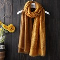 2016 autumn and winter women scarves shawl gradient color sunscreen twill cotton female students seaside beach shawls scarves