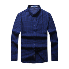 8XL 6XL 5XL Brand New Men Shirt Male Dress Shirts Men's Fashion Casual Long Sleeve Business Formal Shirt camisa social masculina