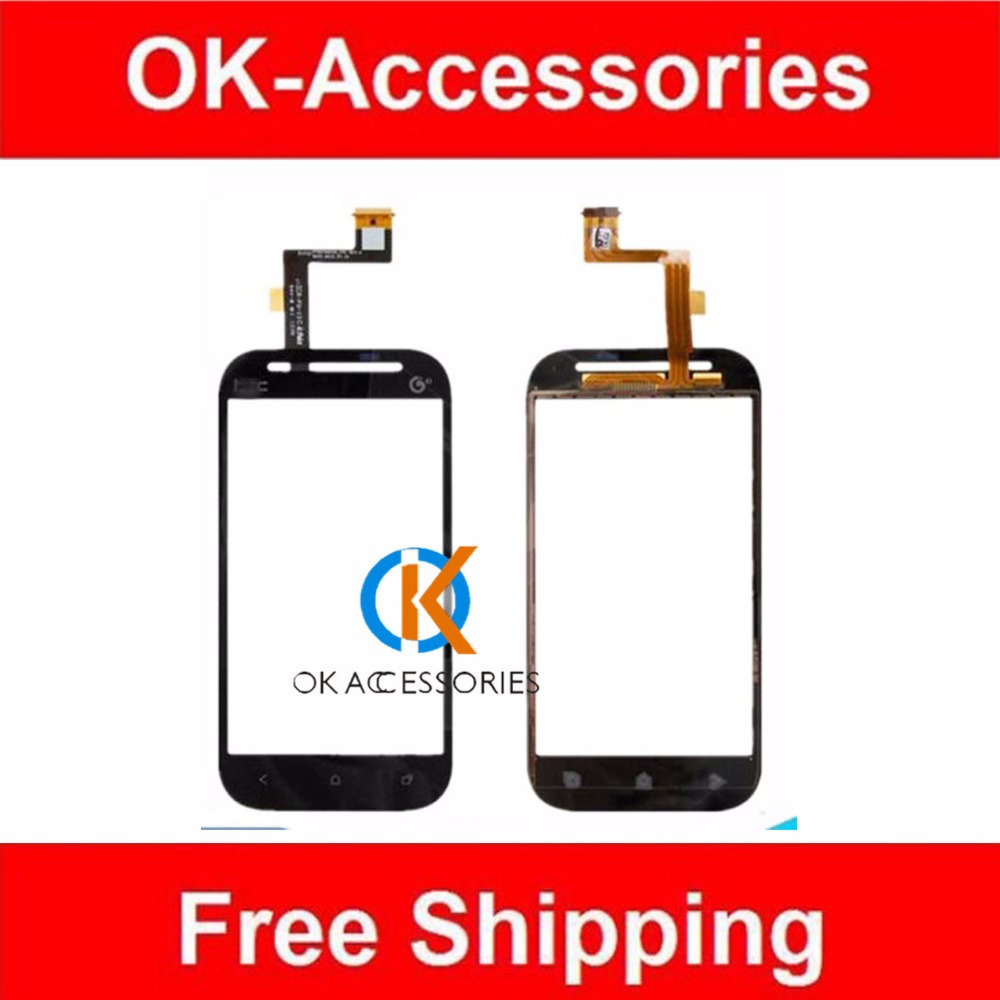 Black Color Touch Glass For HTC Desire SV For Desire P T326E Touch Screen Digitizer 1PC/Lot Free Shipping