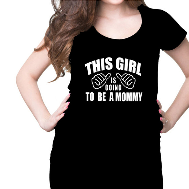 f5f8eb003 2016 Summer Maternity Funny Shirts Mom To Be Pregnancy T Shirt Pregnant  Women Tops Tees Clothes