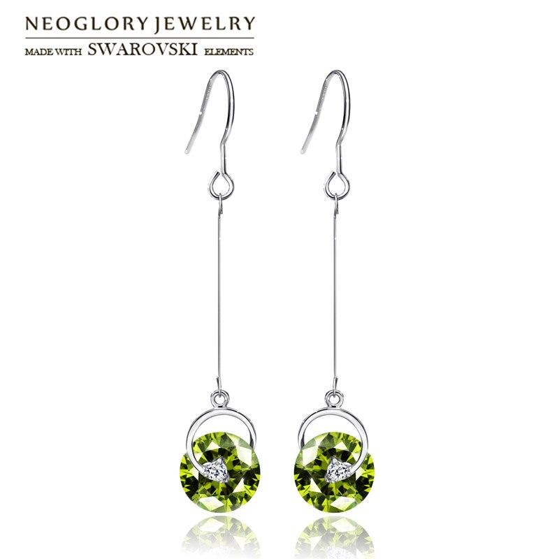 Neoglory Österrike Crystal & Rhinestone Drop örhängen Långa - Märkessmycken - Foto 3