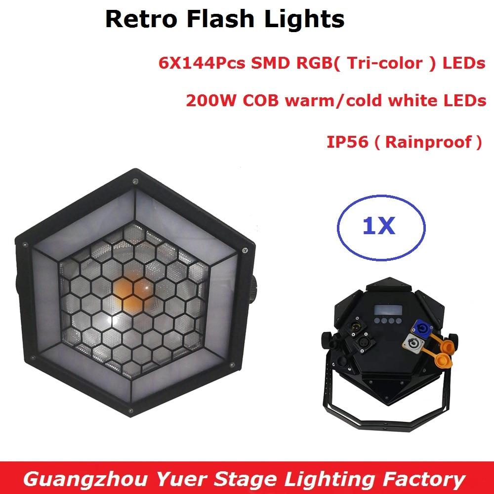 Us 230 0 Professional Led Stage Lights 200w Cob Par Dmx Lighting Effect Retro Flash 512 Controller In