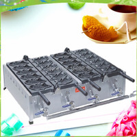 free shipping japanese 12 pcs Luxury upgrade electric takoyaki machine fish cake machine gas taiyaki machine