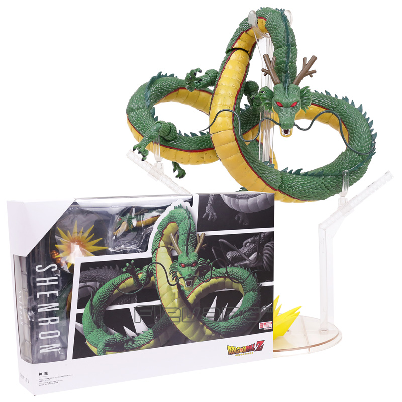 SHFiguarts Dragon Ball Z Shenron PVC Action Figure Collectible Model Toy 28cm shfiguarts dragon ball z vegeta pvc action figure collectible model toy 6 5 16cm