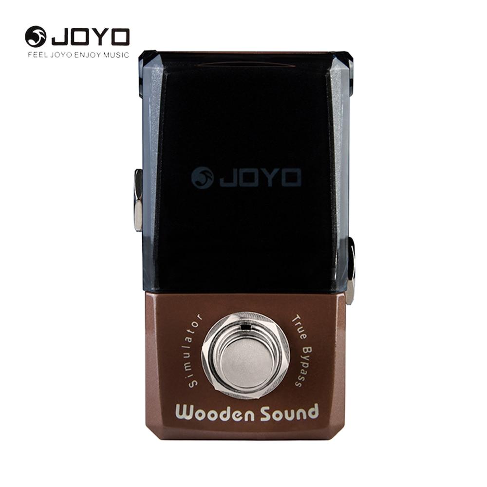 JOYO JF-323 Ironman Series Wooden Sound Mini Electric Guitar Effect Pedal Box Acoustic Guitar Simulator