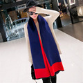Winter  Fashion Border Women Scarves High Quality Cashmere Women Shawl Super Long Thermal Muffler 5 Colors Neckerchief