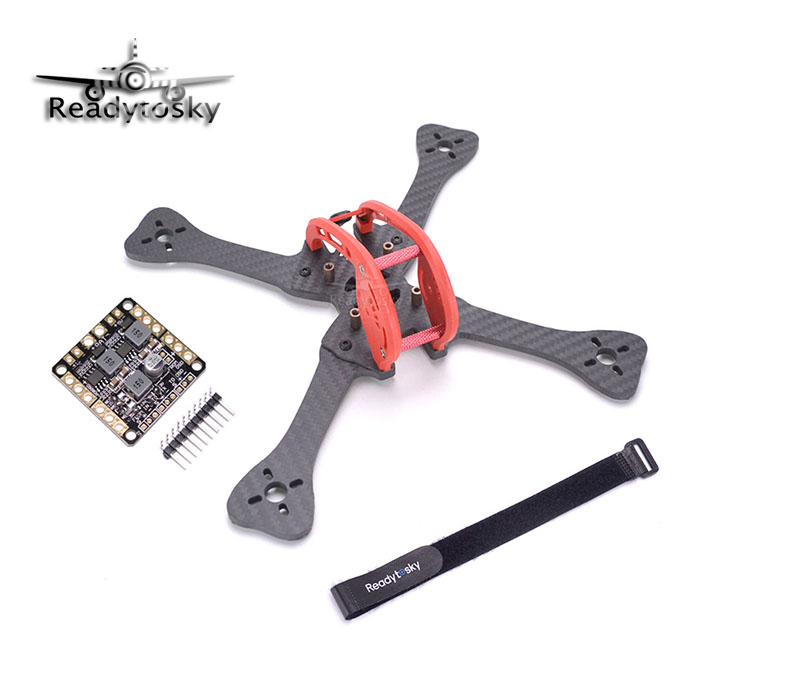 FPV DIY Mini Carbon Fiber 220 220mm quadcopter frame Distribution board PDB for Leopard GEPRC GEP-LX5 GEP LX5 kingkong 210 carbon fiber mini fpv quadcopter 5v 12v bec pdb motor cover protection frame free give 10 pairs 5040 red propeller