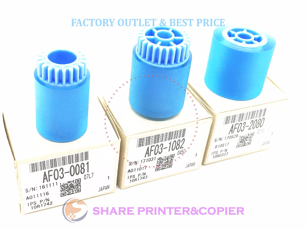 AF03 0081 AF03 1082 AF03 2080 SHARE 10 sets original package pickup roller kit for ricoh