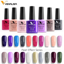 VENALISA Organic Nail Gel Polish 60 Color 7.5ml CANNI Nail Art SPA Salon DIY Soak off UV LED Odorless Enamal Gel Nail Varnish