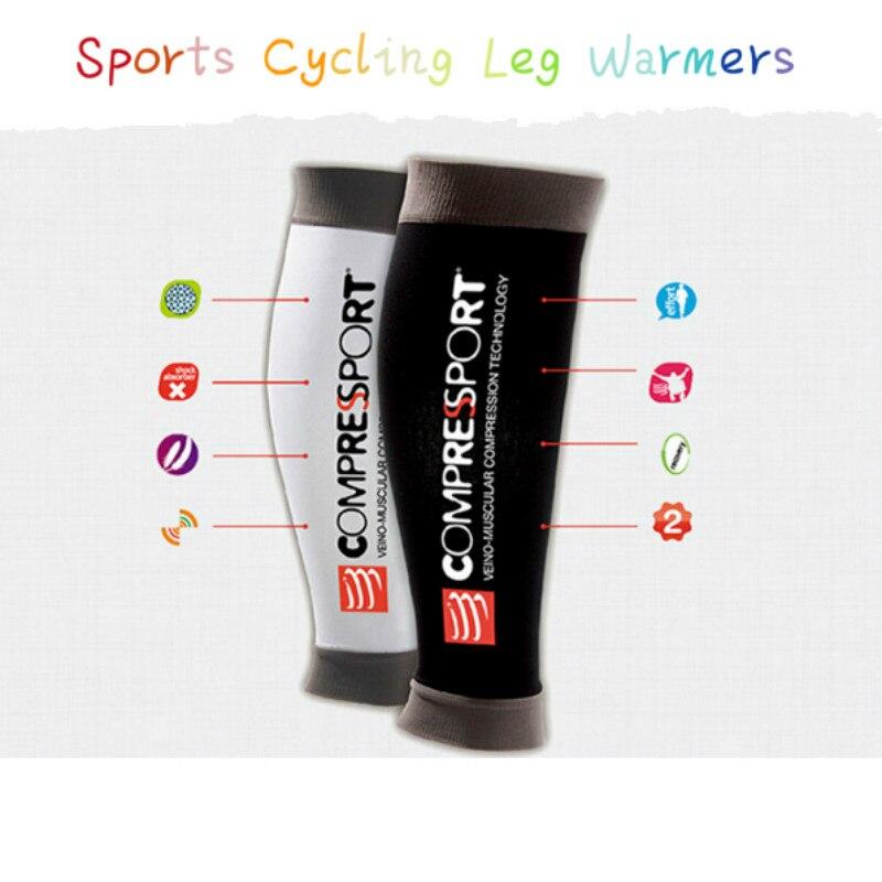 Prix pour 1 paire Unisexe Compression Fonction de Course Sports Cyclisme Jambières De Natation Jogging Yoga Compressport Jambières
