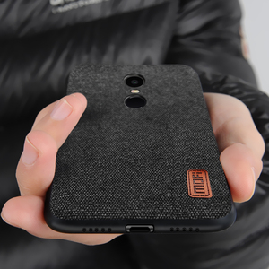 Image 2 - עבור Xiaomi Redmi 5 בתוספת מקרה Xiaomi redmi 5 בתוספת MOFi Redmi הערה 5 מקרה חזרה כיסוי בד מגן Redmi 5 בתוספת מקרים חלבית