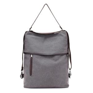 Image 4 - Canvas Bag Tote Bag Bagpack MultiFunction Canvas Back pack Women Sac Bandouliere Femme Bags For Women 2019 Mochila Feminina K042