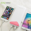 20000 mAh iBesky Q9 original External Battery Powerbank Portable Charger for iPhone 6/6s 7 7plus and all phones LED light