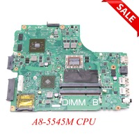 NOKOTION PWB F77G4 REV A00 CN 0616FF 0616FF 616FF Main board for DELL inspiron M431R 5435 laptop motherboard A8 5545M ddr3