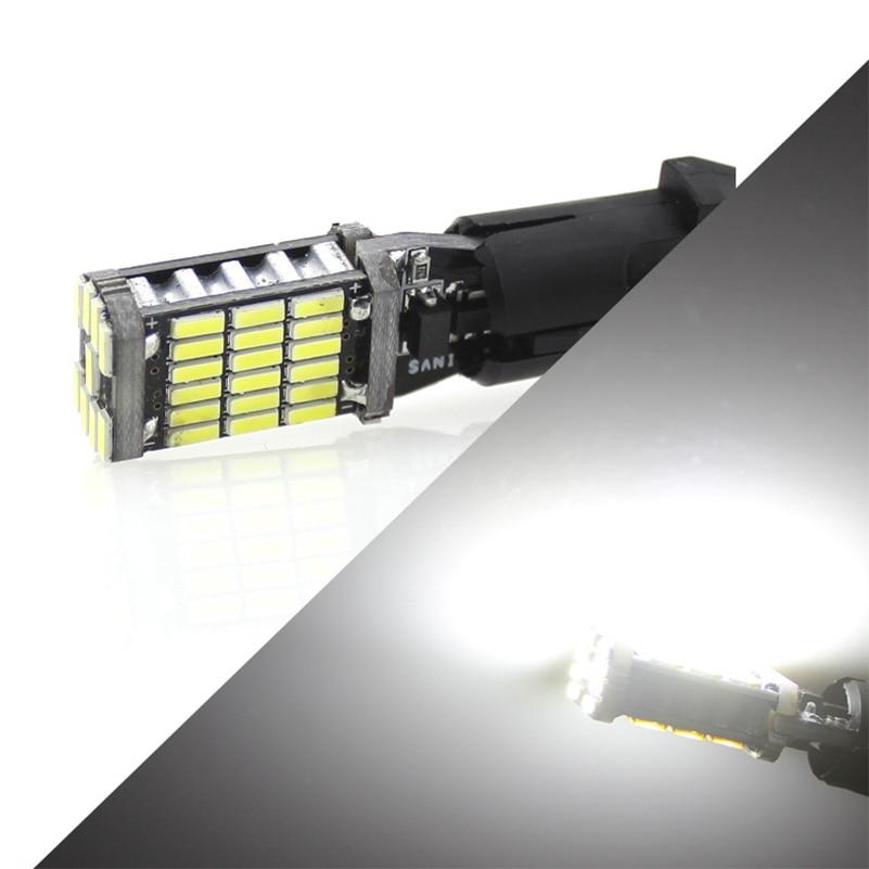 2 Stks T10 W5W T15 W16W 4014 45SMD Canbus FOUT GRATIS - Autolichten - Foto 6