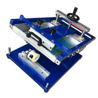 silicone bracelet screen printing machine for single color and small business silk screen print