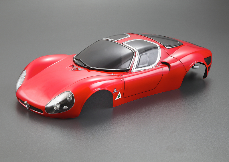 Us 1190 Rtr Body 110 Scale On Road Race Car Tipo33 Alfa Romeo Tipo33 Stradale Rtr Body Kyosho Hpi Fs Redcat Trax Losi Hsp Acme In Parts