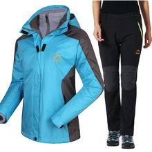 Waterproof Ski Suit Women Ski Jacket Pants Female Winter Outdoor Skiing Snow Snowboard Jacket Pants Snowboarding Sets все цены