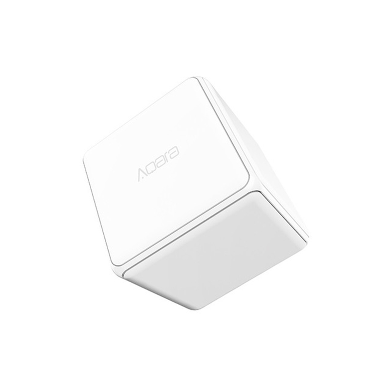 Image 2 - Xiaomi Aqara Magic Cube Controller Zigbee Version Controlled by Six Actions For Smart Home Device work with mijia home app-in Smart Remote Control from Consumer Electronics