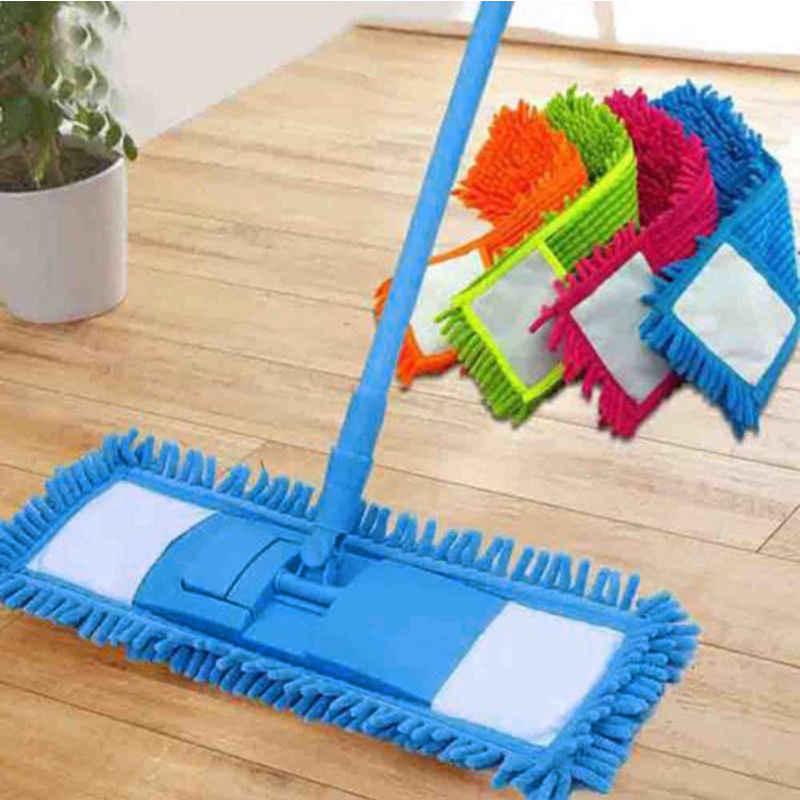 المنزل تنظيف الوسادة الشنيل المنزلية ممسحة تراب رئيس استبدال ستوكات استبدال مستطيل رؤوس الممسحة انخفاض الشحن
