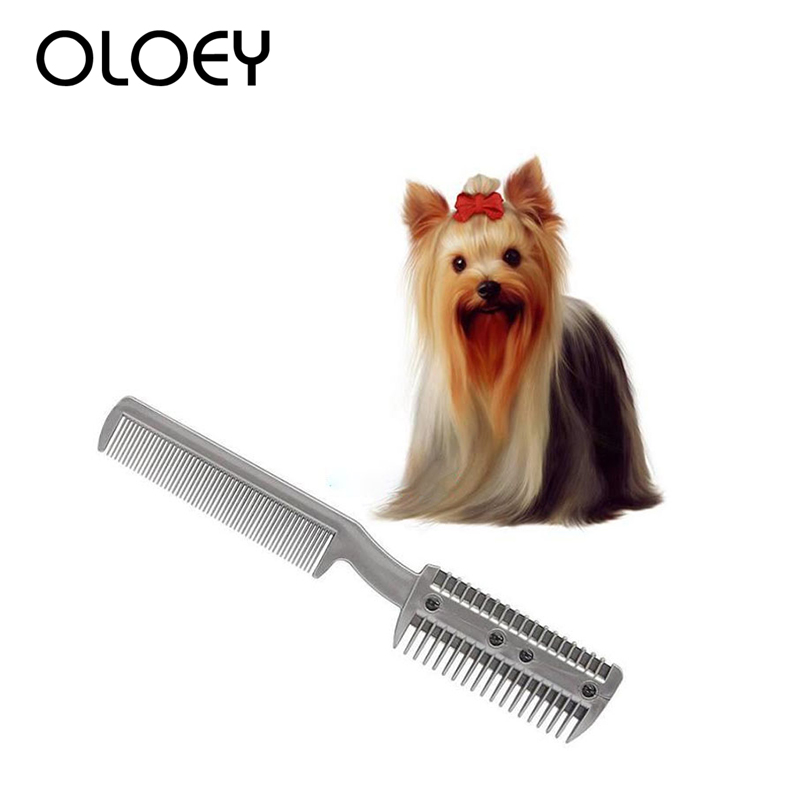 Professional Dog Brush Comb Puppy Dog Cat Hair Trimmer Slicker Gilling Brush Quick Cleaning Tool for Pet Grooming Comb