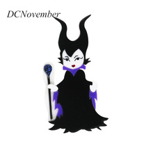 Maleficent Brooch Pin Actor Angelina jolie Movie