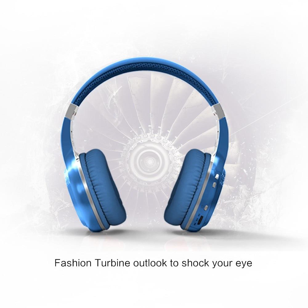 D'origine Vrai Sans Fil Bluetooth Casque Bluedio HT Écouteurs Meilleure Version 4.1 Stéréo Casque Avec Microphone Mains Libres Appels - 6