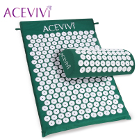 ACEVIVI Massager Cushion Acupressure Mat Relieve Stress Pain Acupuncture Spike Yoga Mat With Pillow Drop Shipping