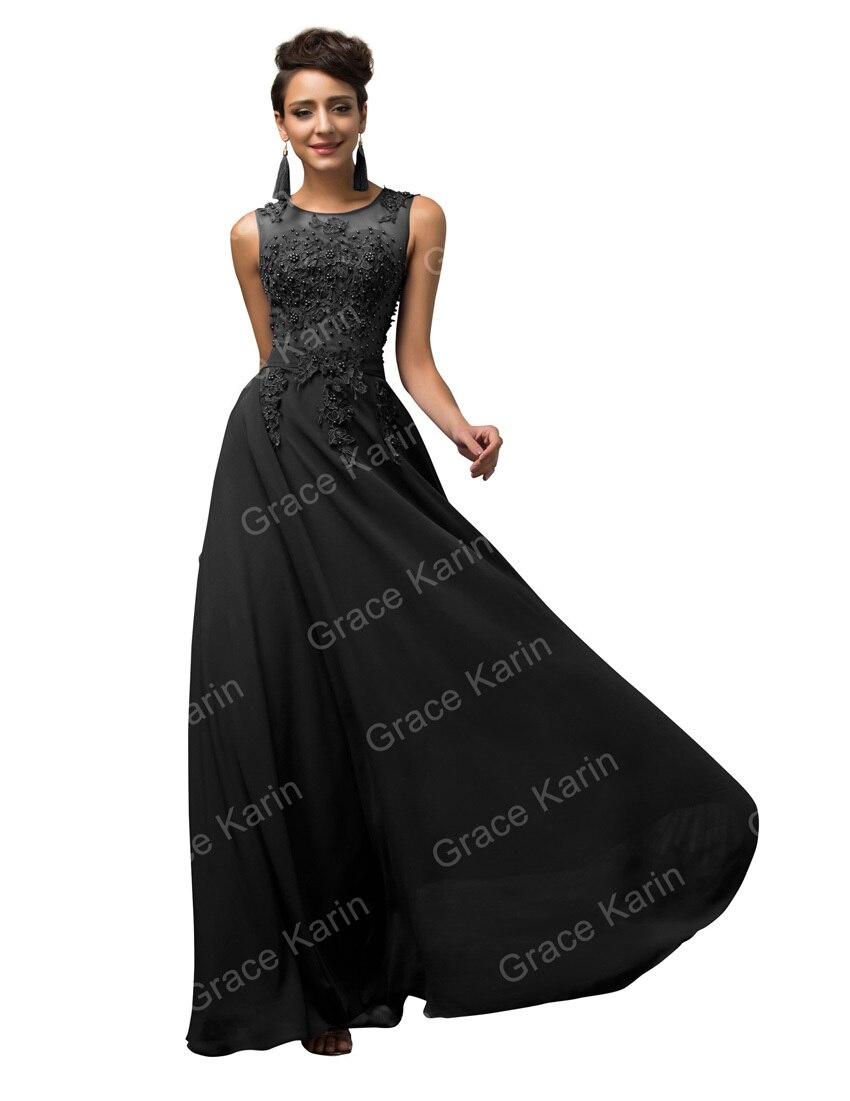 Elegant Long Evening Dresses Purple Red White Chiffon – dressson.net