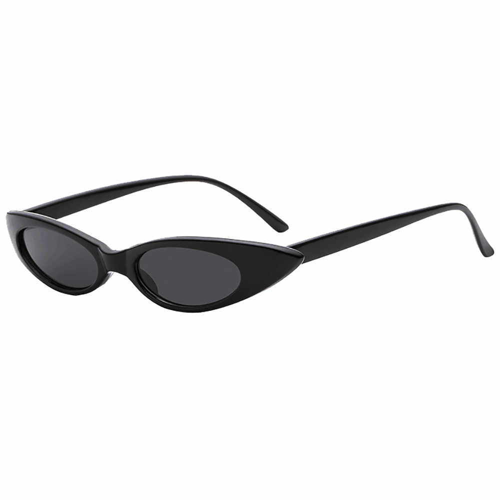 Gafas de sol polarizadas gafas de conducción Clout gato Unisex gafas de sol rapero ovaladas sombras Grunge gafas espejo sol GlassesGafasL3 $