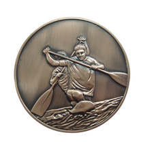 3D Souvenir Challenge Coin with Antique bronze Plated hot sales metal sports coins custom you own LOGO we can help