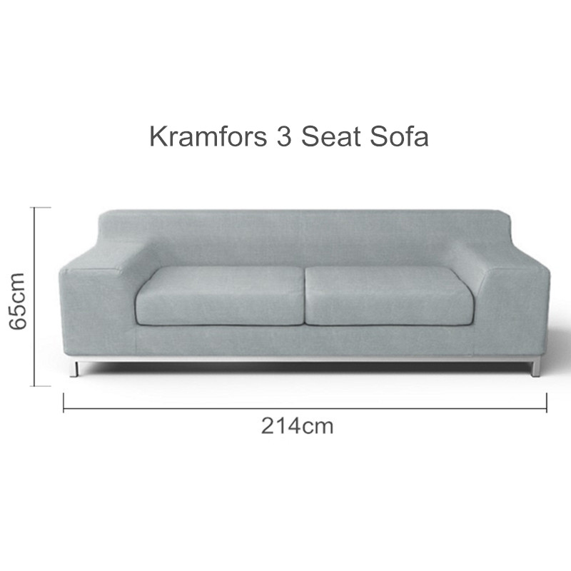 The Kramfors 3 Seat Sofa Cover Replacement For Kramfors 3