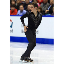 цены на Nasinaya Boys Man Figure Skating Performance Clothing Tops And Pants Customized Competition Ice Skating Leotard Trousers Elastic  в интернет-магазинах