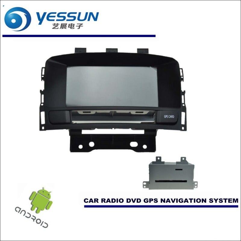 YESSUN автомобильный Android навигация для Opel Astra J/Vauxhall/Holden/gtc радио стерео CD dvd плеер gps Navi экран мультимедиа