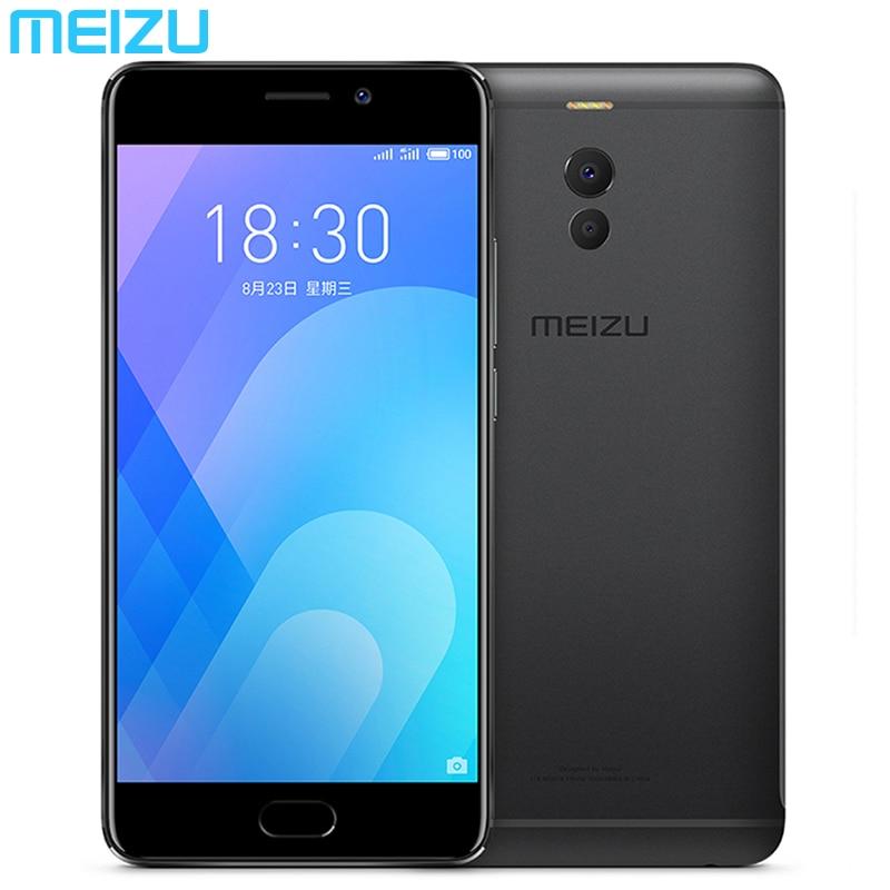 """Meizu M6 Примечание 4G B Оперативная память 6 4G B Встроенная память телефона 4G LTE Snapdragon 625 двойной сзади Камера 16.0MP 5,5 """"FHD 4000 мАч Быстрая зарядка и отпечатков пальцев"""