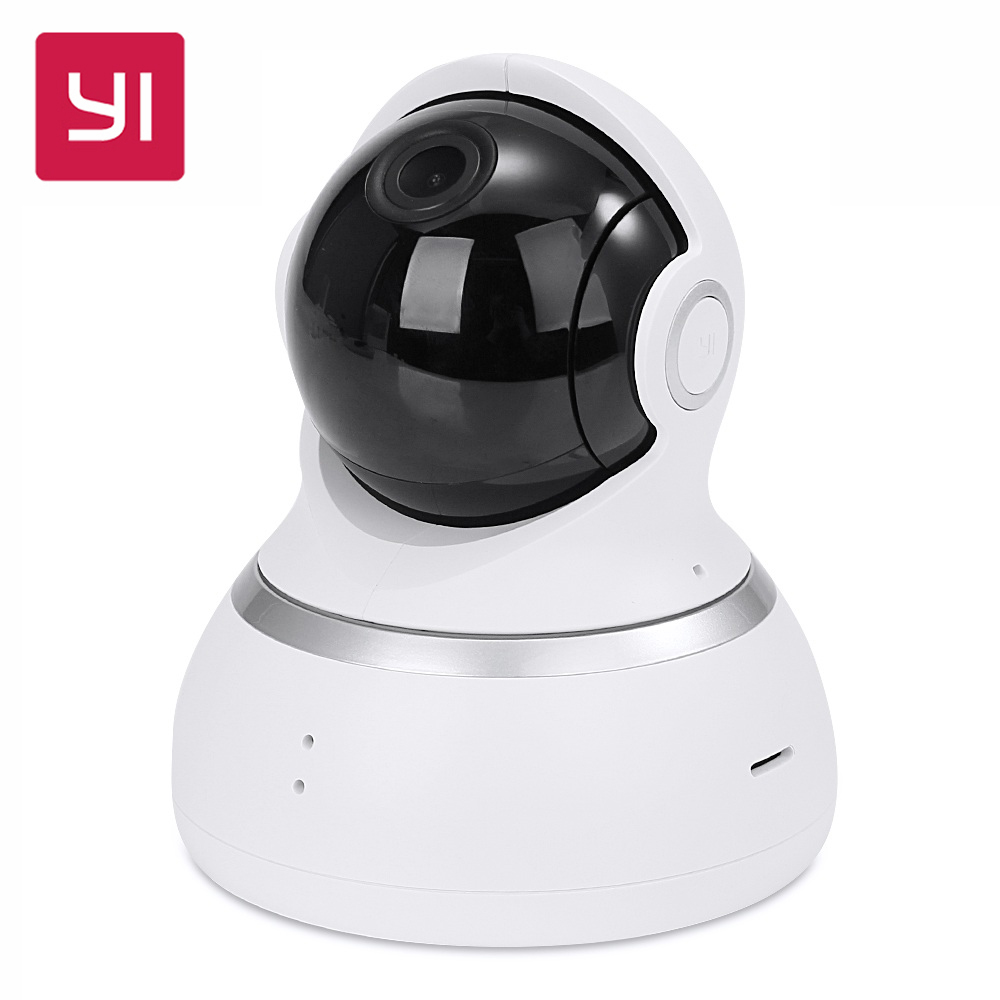 [International Edition] Xiaomi Yi 1080P Dome Camera Pan-Tilt Control 112 Wide Angle 360 View Two-way Audio YI Dome IP Camera