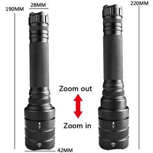 Image 3 - Z201515 XHP70.2 xhp50 мощный светодиодный фонарик Тактический масштабируемый фонарь перезаряжаемый фонарь 32000lm Лампа 18650 аккумуляторные фонарики