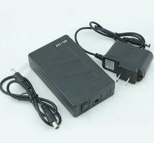 נייד סופר קיבולת נטענת ליתיום יון סוללות DC 12V 6800mAh עבור טלוויזיה במעגל סגור מצלמת צג משלוח חינם