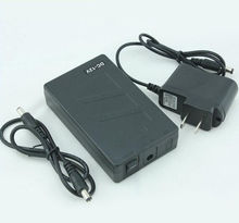 Taşınabilir Süper Kapasiteli Şarj Edilebilir lityum iyon Pil Paketi DC 12V 6800mAh CCTV Kamera Monitör Ücretsiz Kargo
