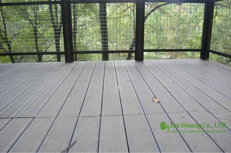 Imperméable à l'eau écologique à l'extérieur en bambou platelage