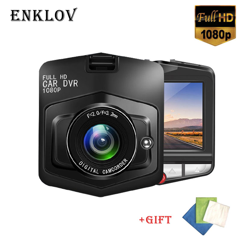 ENKLOV Mini Car Camera Full HD 1080P Dash Cam 170 Wide-angle DVR English / Russian User Manual G-sensor Night Vision Car DVR idomax 2 7 full hd 1080p cmos 170┬░ wide angle car dvr w g sensor ir night vision black