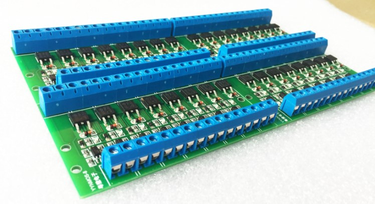 Free shipping Octo mos tube PLC Amplifier board Optocoupler isolation MOSFET module DC drive module 100pcs lot free shipping n channel mosfet si2302 a2shb 2 5a 20v sot23 mos tube si2302ds high quality