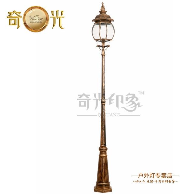 Lampes De Jardin En Plein Air Lampadaire Rue Route Lampadaire