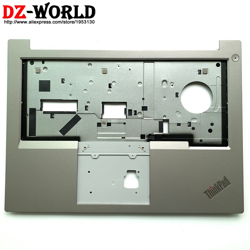 New Original Laptop Panel Palmrest Silver C Cover Case for Lenovo ThinkPad E480 E490 without FPR