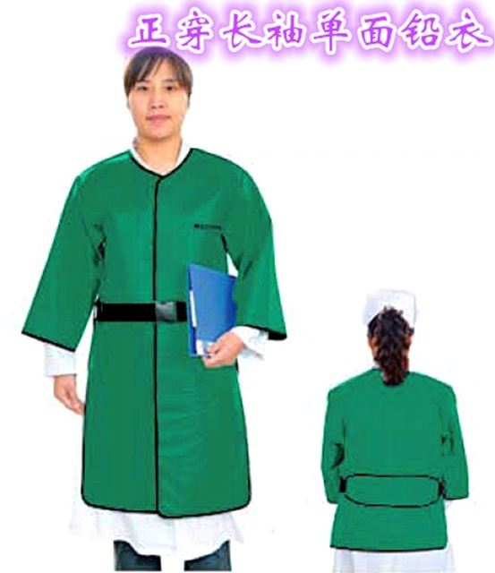 Anti- radiation lead aprons lead protective clothing wear long-sleeved one-sided positive lead aprons