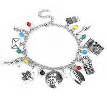 New Arrival Jewelry Pretty Little Liars Bracelet Bangle GOT A SECRET CAN YOU KEEP IT Mask Crystal Beads Best Friend Bracelet kinsella s can you keep a secret