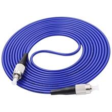 5 unids/lote Simplex Cable de conexión de fibra óptica Mini Cable de conexión blindado/puente FC/UPC FC/UPC