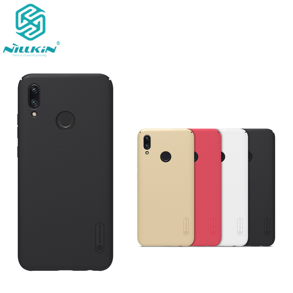 10pcs lot wholesale NILLKIN Super Frosted Shield matte PC hard back cover case for Huawei P