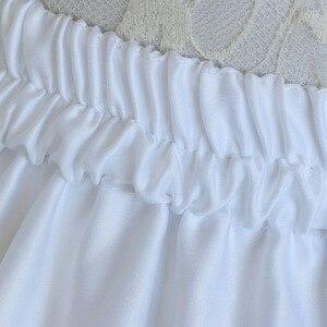 Image 4 - Lolita Petticoat Frau Kurzen Unterrock Rockabilly Rüschen Tüll Schwarz Weiß Rot Lager Puffy Tutu Rock Cosplay Cocktail Kleid